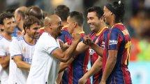 Le Real Madrid s'offre le Clasico des Légendes face au FC Barcelone