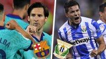 Barça-Leganés : les compos probables