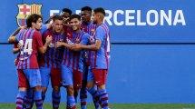 Le groupe du Barça pour la tournée en Allemagne