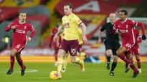 PL : Liverpool surpris par Burnley à Anfield