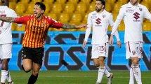 Serie A : le Torino revient de très loin à Benevento
