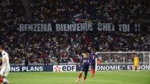 EdF : Benzema ému par l'accueil du public