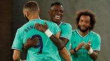 Real Madrid : Zinedine Zidane réagit à l'affaire Benzema-Vinicius Jr
