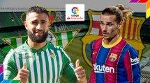 Real Betis-FC Barcelone : les compositions officielles