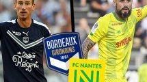 Bordeaux-Nantes : les compositions officielles !