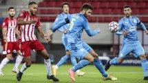 L'OM s'incline sur le fil contre l'Olympiakos