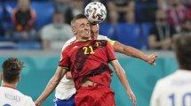 Belgique : Timothy Castagne forfait pour le reste de l'Euro
