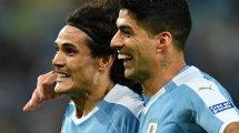 Qualif. Coupe du Monde 2022 : l'Uruguay avec Edinson Cavani, Luis Suarez et José Maria Giménez