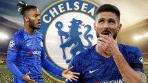 Chelsea : quel avenir pour Olivier Giroud et Michy Batshuayi ?