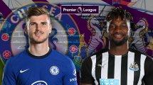 Chelsea - Newcastle : les compositions officielles