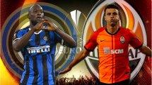 Inter Milan - Shakhtar : les composition officielles
