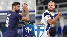 France - Finlande : les compositions probables
