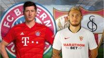 Supercoupe UEFA, Bayern-Séville FC : les compos officielles !