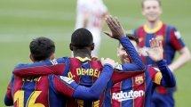 Liga : le FC Barcelone s'impose à Séville avec un grand Ousmane Dembélé