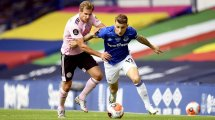Everton : Carlo Ancelotti bloque Lucas Digne