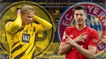 Borussia Dortmund - Bayern Munich : les compos probables