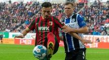 Bundesliga : Augsbourg et Bielefeld dos à dos