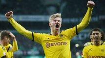 Bundesliga : Erling Haaland sauve Dortmund, le Werder se donne de l'air et pousse Paderborn vers la relégation