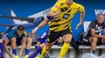 Thomas Meunier blessé lors de son deuxième match avec Dortmund