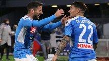 Naples : le PSG toujours sur Dries Mertens