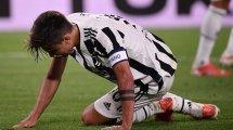 La Juventus communique sur les blessures d'Alvaro Morata et de Paulo Dybala