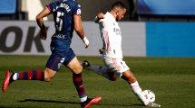 Liga : le Real Madrid surclasse Huesca grâce à Hazard et Benzema
