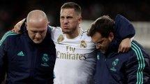 La Belgique s'inquiète pour Eden Hazard