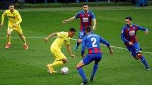 Liga : Villarreal l'emporte à Eibar