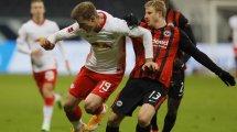 BL : l'Eintracht Francfort et le RB Leipzig dos à dos