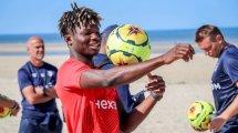 El Bilal Touré : « pour montrer que je n'étais pas touché par les provocations, j'ai décidé de jongler »