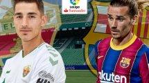 Elche-FC Barcelone : les compositions officielles