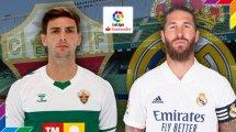 Elche-Real Madrid : les compositions officielles
