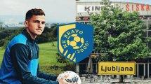 Sur les traces du jeune défenseur Emerick Eckert, le Français de Slovénie