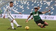 Serie A : l'Inter Milan balaye et double Sassuolo