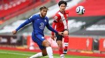 Premier League : Chelsea tenu en échec à Southampton