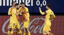 Liga : un petit Barça se défait d'Osasuna