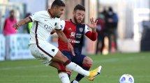 Serie A : la Roma chute face à Cagliari