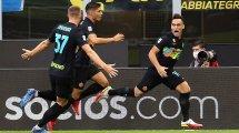 Serie A : l'Inter Milan écrase Bologne et prend la tête du championnat
