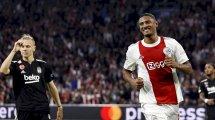 Ligue des Champions : l'Ajax Amsterdam enchaîne et régale contre Besiktas, l'Inter Milan et le Shakhtar Donetsk se neutralisent