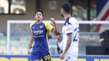 Serie A : l'Hellas et un grand Giovanni Simeone anéantissent la Lazio, la Fiorentina cartonne Cagliari