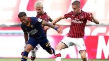 Serie A : l'AC Milan s'offre l'AS Roma et se relance