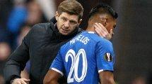 Rennes, Lille : Steven Gerrard en dit plus sur la situation d'Alfredo Morelos