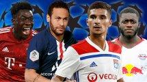 Ligue des Champions : l'équipe type des quarts de finale