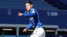 Everton : James Rodriguez ironise sur un possible retour au Real