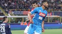 Naples cherche preneurs pour Faouzi Ghoulam et Kevin Malcuit