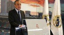 Le plaidoyer de Florentino Pérez pour une Super League européenne