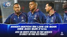 PSG-Man City : suivez l'avant-match en direct sur Tiktok !