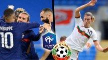 France - Bulgarie : les compositions officielles
