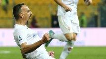 Salernitana rêve de Franck Ribéry