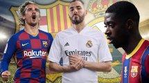 Real Madrid - FC Barcelone : où en sont les Français ?